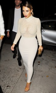 2c08a7290002384 Kim Kardashian and Kendall Jenner – out and about *see thru* candids in New York