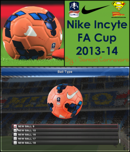 pes 2014 Nike Incyte Fa Cup