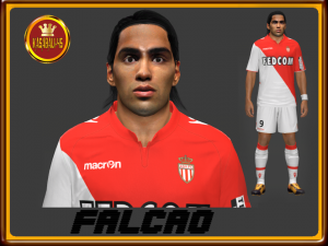 pes 2014 Radamel Falcao Final Face