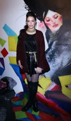 Chloe Bridges - alice + olivia By Stacey Bendet And David Choe Celebrate A Night Of Fashion And Art in NYC 11/20/13