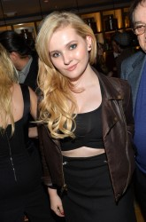 Abigail Breslin - Weinstein Company's holiday party in West Hollywood 11/21/13