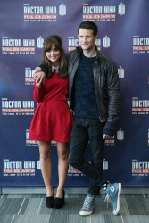 Jenna Coleman - Doctor Who 50th Anniversary Celebration in London 11/22/13