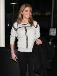 Kate Upton - At LAX Airport 11/22/13