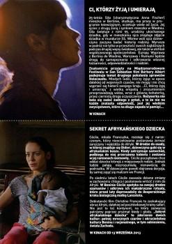 Tył ulotki filmu 'Ci, Którzy Żyją i Umierają'