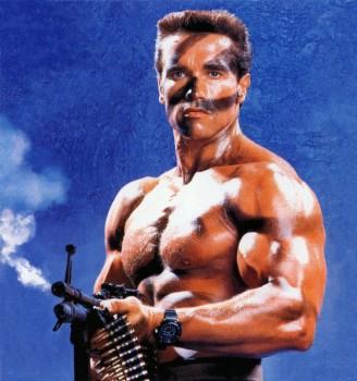 Коммандо / Commando (Арнольд Шварценеггер, 1985) 3a50d3290728456