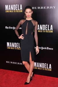 Sara Sampaio – Screening of Mandela: Long Walk to Freedom