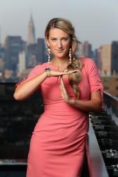 Victoria Azarenka - Bacardi Champions Drink Responsibly Manhattan 8/22/12