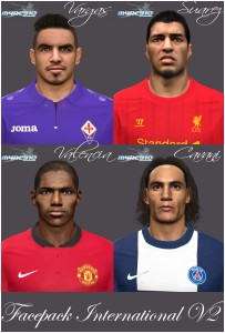 download PES 2014 Facepack Internacional v2 by m4rc310