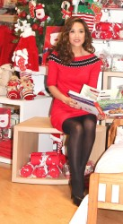 Myleene Klass – Mothercare Chrismas Party Oxford Street London