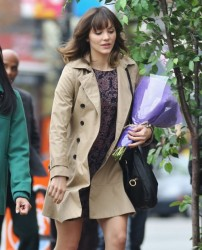 efa906291813878 [Low Quality] Katharine McPhee   on the set of In My Dreams in Vancouver 11/28/13 high resolution candids