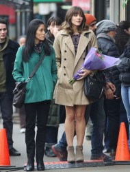 f65ce7291813869 [Low Quality] Katharine McPhee   on the set of In My Dreams in Vancouver 11/28/13 high resolution candids