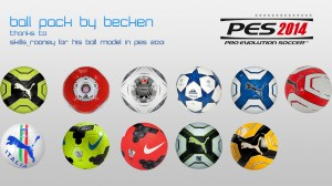 PES 2014 Ballpack by becken