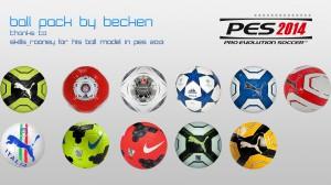 PES 2014 Ballpack by becken