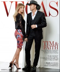 Faith Hill - nice *** in VEGAS Magazine December 2013