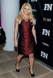 Jessica Simpson at the 27th Annual Footwear News Achievement Awards in New York City on December 3, 2013