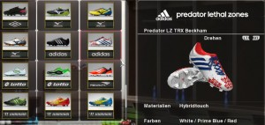 pes 2014 Predator Lethal Zones TRX David Beckham by Ron69