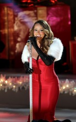 Mariah Carey - Rockefeller Center Christmas Tree Lighting Ceremony in NYC 12/3/13