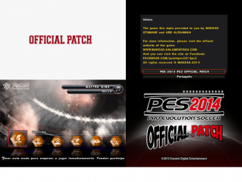 download Patch pes 2014 ps2 official by makdad othmane