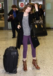 Anna Kendrick - at Washington Dulles Airport 12/6/13