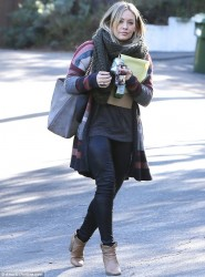 Hilary Duff - out in Studio City 12/10/13