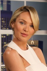Candice Swanepoel - The Lowdown with Diana Madison in LA 12/9/13