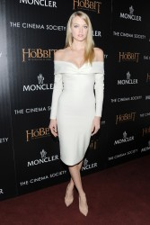 """Lindsay Ellingson - """"The Hobbit: The Desolation of Smaug"""" Screening in NYC 12/11/13"""