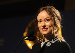 Olivia Wilde at the 71st Golden Globe Awards Nominations Announcement at The Beverly Hilton Hotel on December 12, 2013