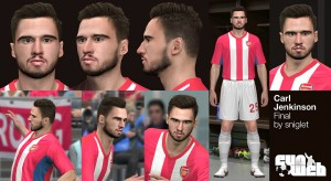 Download PES2014 Carl Jenkinson Face by sniglet