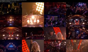 Christina Aguilera - The Voice [12-16-13] - Pour Some Sugar On Me + We Remain (1080i)