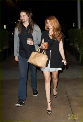 Debby Ryan - at Hungry Cat restaurant in LA 12/17/13