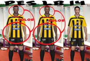 Download PES 2014 SkinColor Patch by PES Liga Boliviana