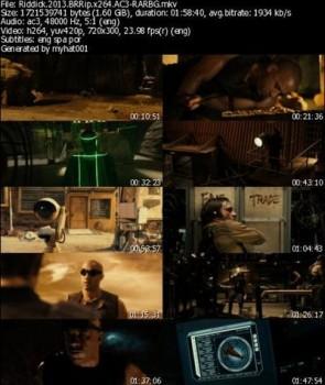 Riddick (2013) BRRip x264 5.1CH AC3 - RARBG