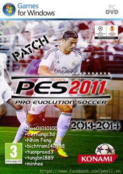 Download PES 2011 Patch - Season 2013-2014 by bigboy