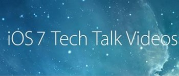 iOS 7 Tech Talks Videos - Apple Developer