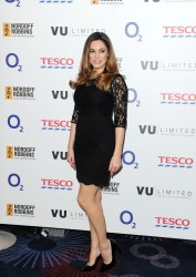 Kelly Brook - Six Nations Rugby Dinner in London 1/15/14