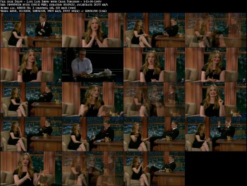 Julie Delpy - Late Late Show with Craig Ferguson - 1-15-14