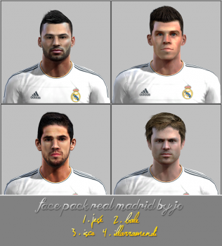 PES 2013 Face pack Real Madrid