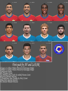 PES 2014 First Facepack by AF and LeXtAR
