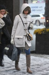 Jessica Alba - out in NYC 1/21/14