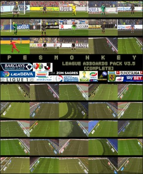 League Adboards Pack v3.5 [complete] by Pesmonkey