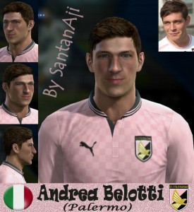 Download Andrea Belotti Face By santanAji