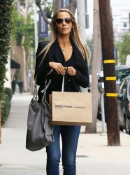 Elizabeth Berkley - out in Beverly Hills 1/30/14
