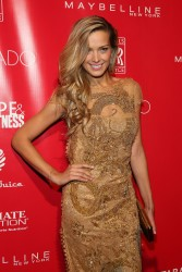 Petra Nemcova - 2014 Shape & Men's Fitness Super Bowl Party in NYC 1/31/14