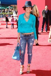 Brooke Burke - 'The LEGO Movie' premiere in Westwood 2/1/14