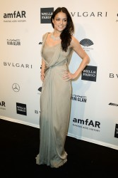 Michelle Rodriguez - 2014 amfAR New York Gala 2/5/14