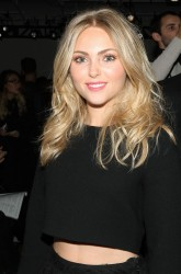 AnnaSophia Robb - Houghton fashion show in NYC 2/6/14