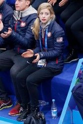 Gracie Gold - at Iceberg Skating Palace in Sochi 2/6/14