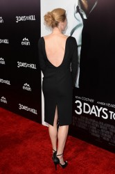 Connie Nielsen - '3 Days To Kill' premiere in Hollywood 2/12/14