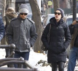 Anne Hathaway - out in Brooklyn 2/12/14