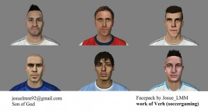 Download FIFA 14 Facepack Nº3 By Josue_LMM